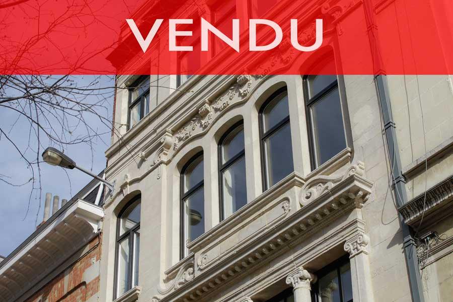 A VENDRE Appartement – Studio 62m2 – Bruxelles